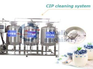 CIP cleaning system