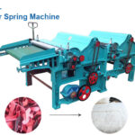 Clear spring machine