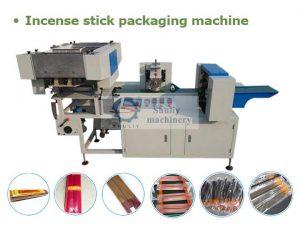 Incense stick packaging machine
