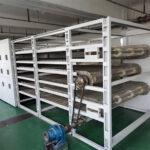Multi-stage-belt-dryer