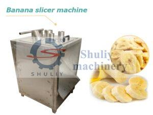 banana slicer machine