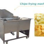 batch potato chips fryer