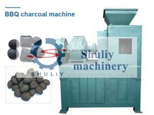 bbq charcoal press machine