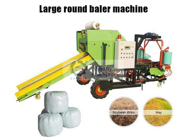 big-size silage baler machine