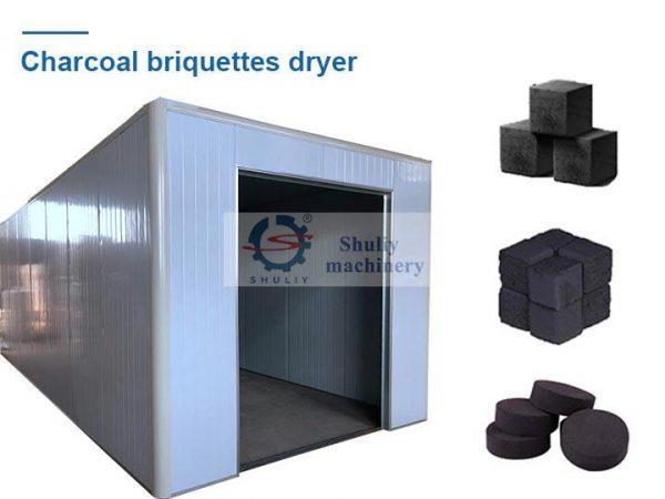 charcoal briquettes dryer machine