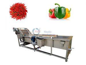 chili bell pepper washing machine