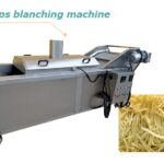 chips and fries blanching machine