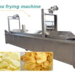 chips and fries frying machine