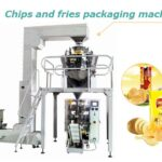 chips and fries packaging machine