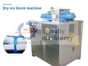 commercial dry ice block machine
