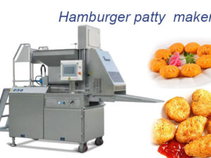 commercial hamburger patty machine