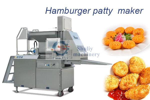 commercial hamburger patty machine