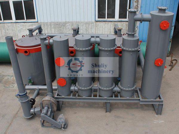 complete flue gas purification system