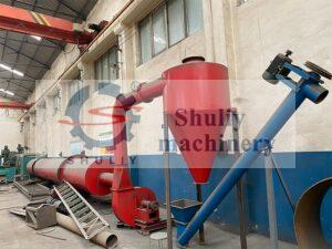complete sawdust dryer machine