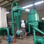 complete set of wood powder making machines