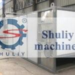 continuous charcoal drying machine