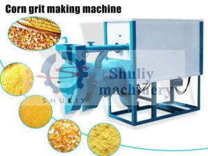 corn grit making machine