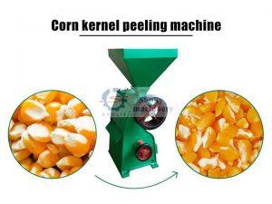 corn peeling machine