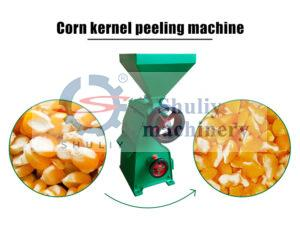 corn peeling machine