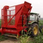 corn stalk harvester