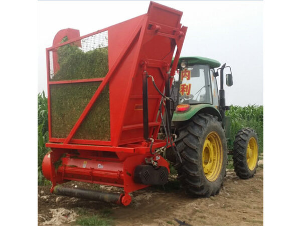 corn stalk harvester machine