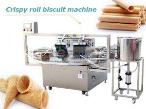 crispy roll biscuit machine