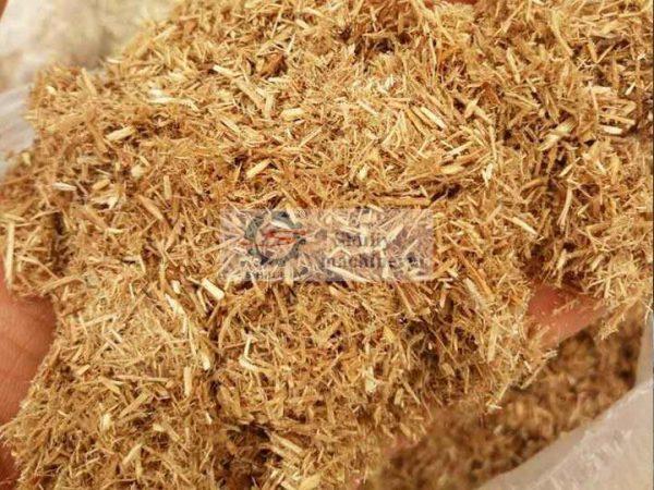 crushing effect of straw