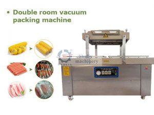 double room vacuum packing machine