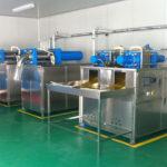 dry ice block production
