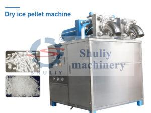 dry ice pelletizer machine