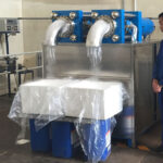 dry ice pellets production