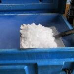 dry ice pellets storage
