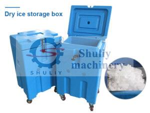 dry ice storage box