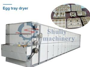 egg tray drying machine for sale