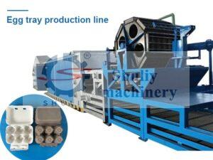 egg tray production line for sale