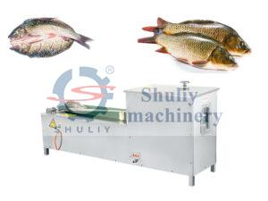 fish belly cutting machine