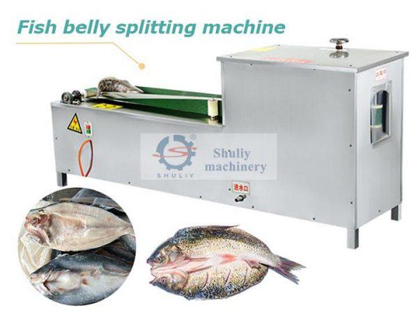 fish belly splitting machine