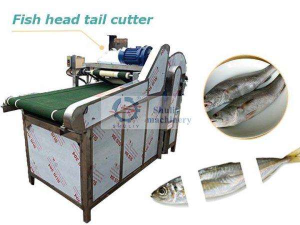 fish head tail cutting machine