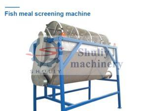 fish meal screening machine