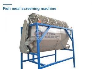 fish meal screening machine