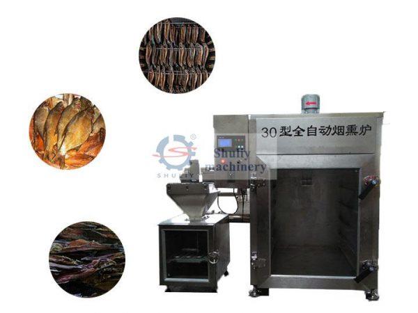 fish smoking machine