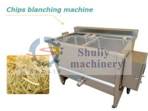 fries blanching machine