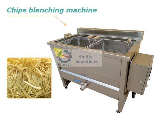 fries blanching machine