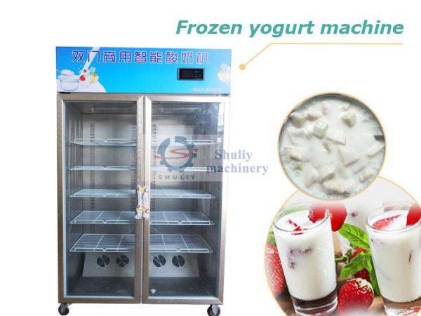 frozen yogurt machine
