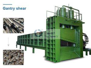 gantry metal shear machine