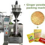 ginger powder packing machine