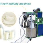 goat cow milking machine
