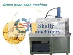 green bean cake machine