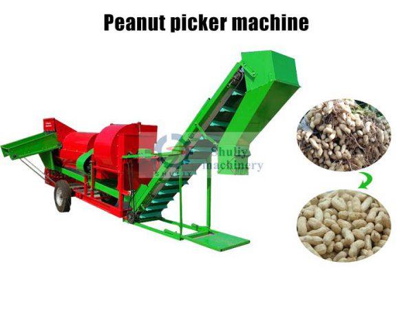 groundnut picking machine