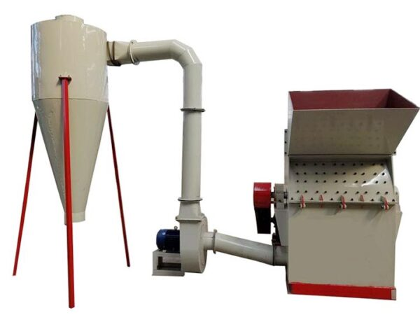 hammer mill crusher with dust collector